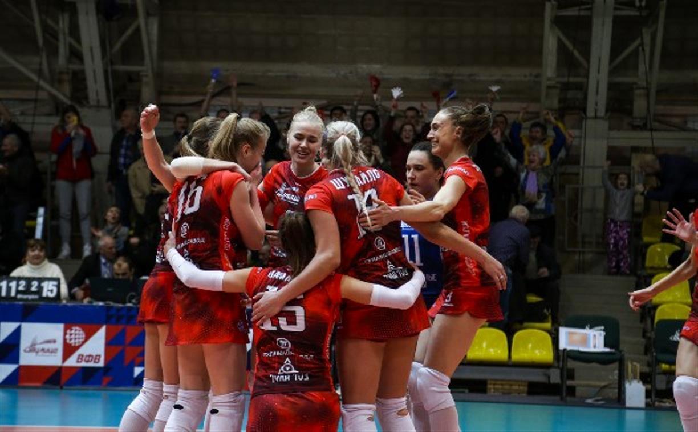 Волейбольная «Тулица» стала участницей Суперлиги