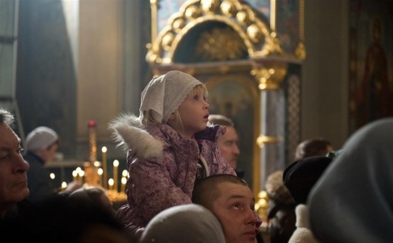 В Успенском соборе Тулы прошла Рождественская служба