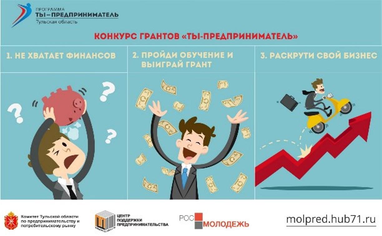 Участвуй в конкурсе молодежных бизнес-проектов и получи грант!