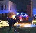 В Туле на улице Металлистов загорелась усадьба купцов Мельниковых