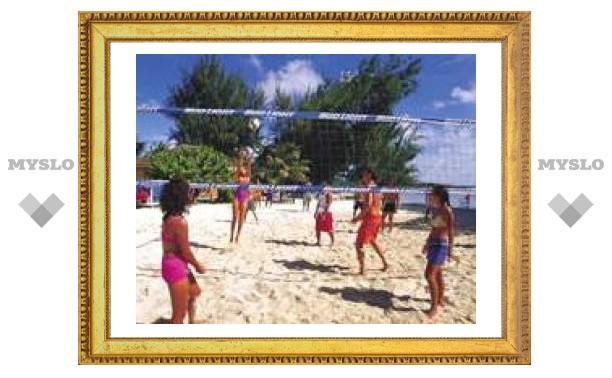 Чемпионат по пляжному волейболу под Тулой в самом разгаре