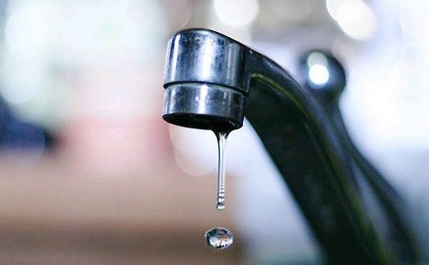 В некоторых районах Тулы ожидается пониженное давление воды