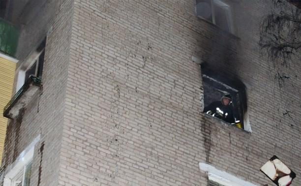 Пожарные спасли семь человек из горящего дома на ул. Металлургов