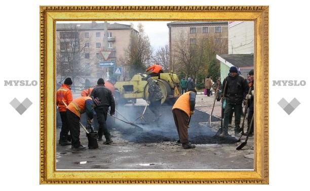 В Туле начался гарантийный ремонт дорог