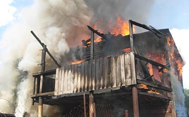 Жилой дом в Туле тушили шесть пожарных расчетов