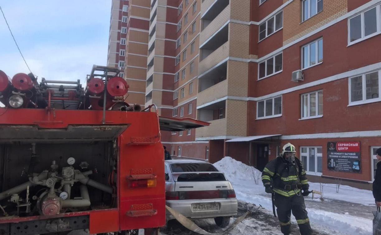 Пожар в тульском Левобережном: сотрудники МЧС спасли 40 человек