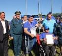 Тульские спасатели вошли в десятку лучших на соревнованиях по рыбной ловле в Липецкой области