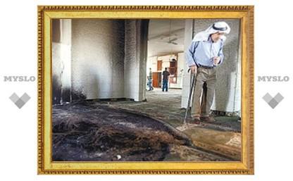 На западном берегу Иордана израильские поселенцы сожгли мечеть
