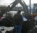 В Пролетарском округе Тулы незаконно копали землю