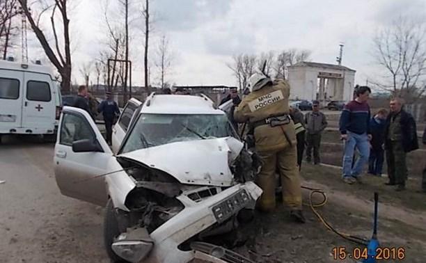 В Киреевске в результате ДТП погиб 43-летний мужчина