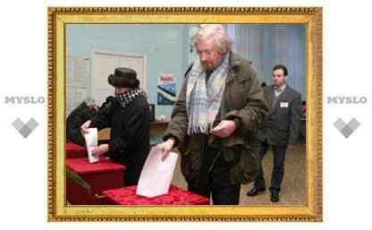 В Тульской области – высокий процент явки избирателей на выборы