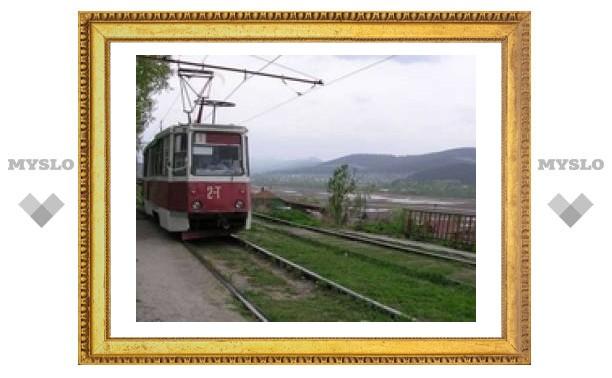 На Косой Горе уберут трамвайные рельсы