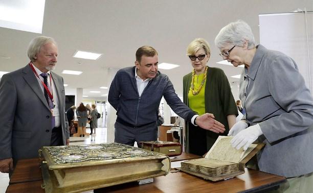 Алексей Дюмин принял участие в открытии Всероссийского библиотечного конгресса