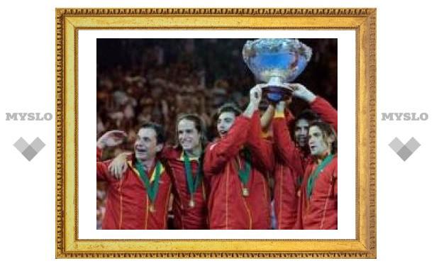 Сборная Испании выиграла Кубок Дэвиса