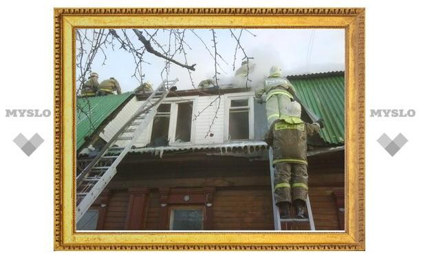 Пожарные спасли дом, в котором живут 4 семьи