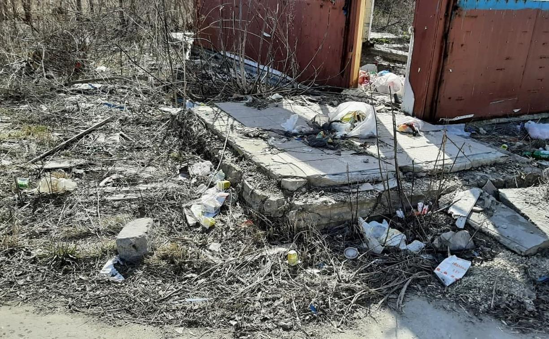 Жители поселка Трудовой: «Мусорных площадок не хватает, всё загажено, никто ничего не убирает!»