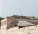В Дубенском районе с пяти домов сорвало крыши