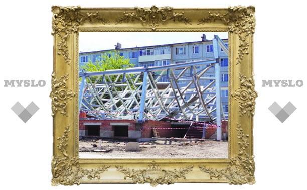 Строящийся магазин рухнул на своего владельца-депутата