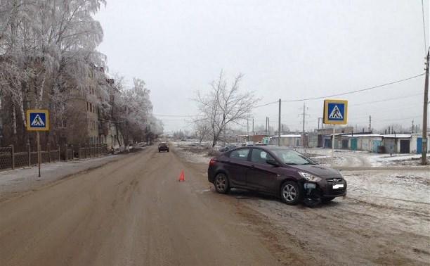 В посёлке Первомайский водитель «Хёндэ» сбил девушку