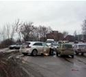 В Мясново столкнулись три автомобиля