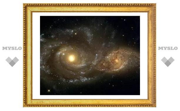 Почти все галактики сталкивались с соседями