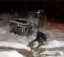 На Зеленстрое ночью сгорели три автомобиля