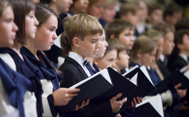 Юные туляки в составе Детского хора России выступили в Кремле