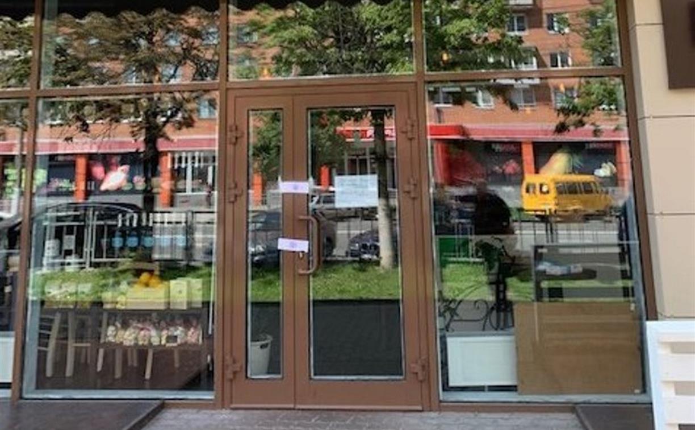 В Туле за отсутствие у персонала масок и перчаток закрыли кафе