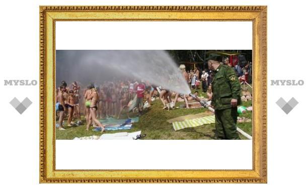 Туляки устроили водные соревнования