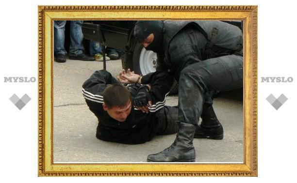 В Туле поймали разбойника