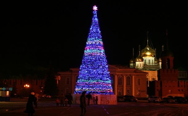 25 декабря состоится открытие главной городской елки