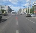 В Туле на ул. Октябрьской маршрутка сбила женщину