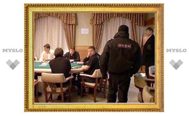 Игроки подпольного казино даже не заметили прибытие ОМОНа
