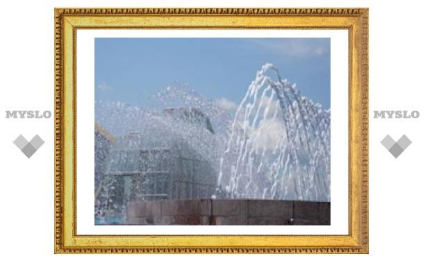 Тульские фонтаны заработают в срок