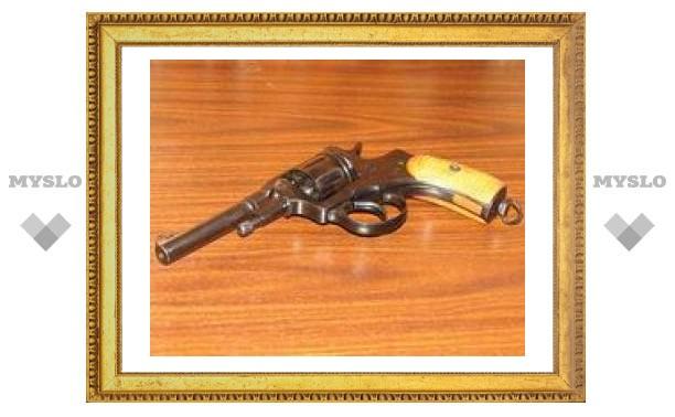Туляки незаконно хранят оружие