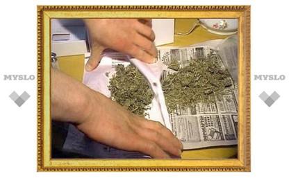 В Туле задержан житель Черни за хранение марихуаны