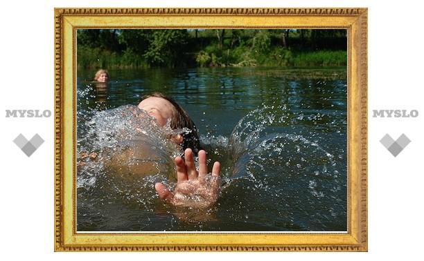 С начала августа в Тульской области утонул один человек