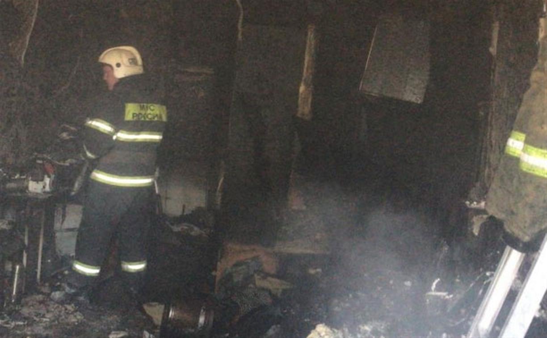 В общежитии на Веневском шоссе в Туле произошел пожар