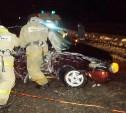 В Ефремове водитель «Приоры» врезался в столб