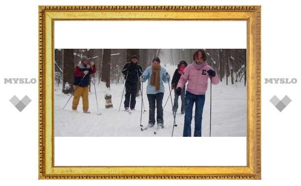 Где тулякам покататься на лыжах