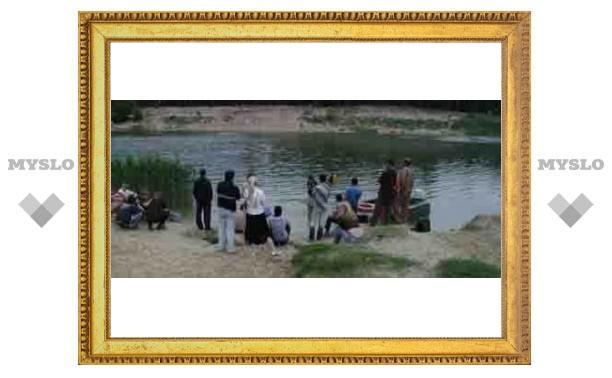 Москвич утонул под Тулой