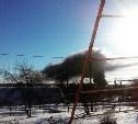 В Тульской области вновь горит спиртзавод