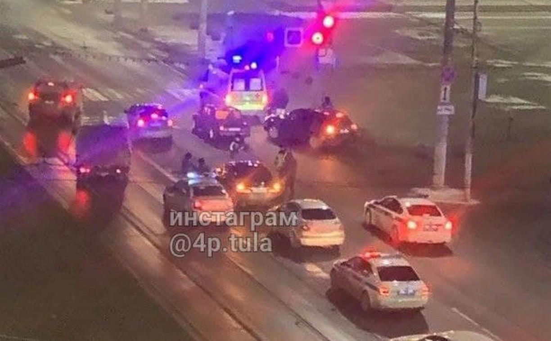 ДТП на ул. Советской: на дороге лежал виновник автоаварии