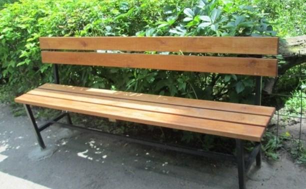 Троих жителей Косой Горы оштрафовали за кражу скамейки