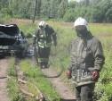 В Донском сгорел автомобиль «Чери»