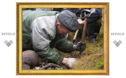 Под Тулой обнаружили останки 80 человек