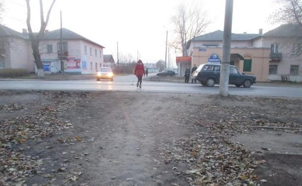 В Новомосковске 19-летний водитель сбил 14-летнюю девочку