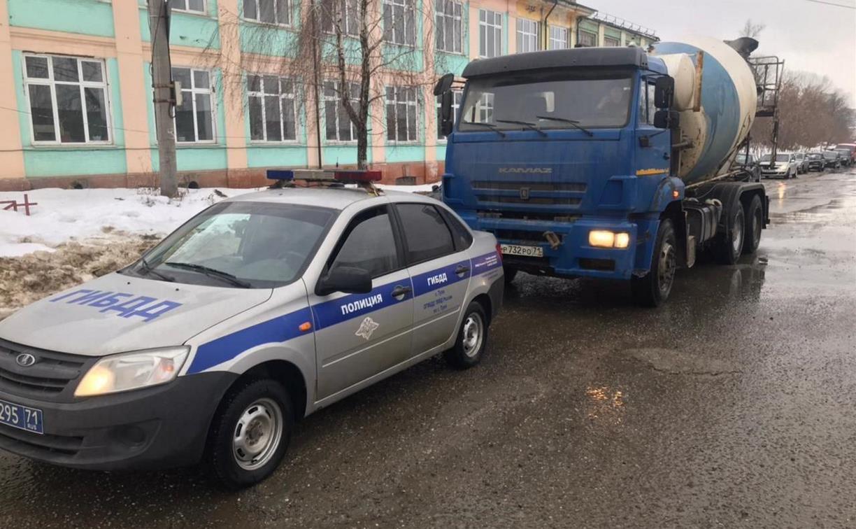 Рейд «Грузовик»: в Туле сотрудники ГИБДД составили больше сотни протоколов на нарушителей