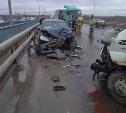 В Алексине четыре человека пострадали в столкновении двух микроавтобусов и легковушки