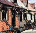 В Алексине пожар уничтожил «Купеческие ряды»